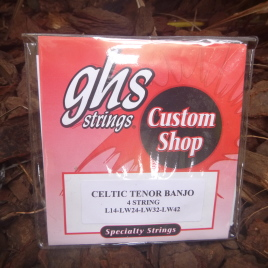 IRISH TENOR BANJO STRINGS (Set of 4)