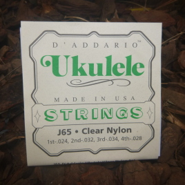 SOPRANO UKULELE STRINGS (Set of 4)