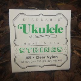 SOPRANO UKULELE STRINGS (Set of 4)