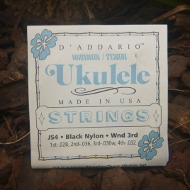 HAWAIIAN TENOR UKULELE STRINGS (Set of 4)