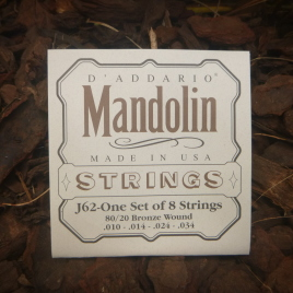 MANDOLIN STRINGS (Pkt 8) light gauge