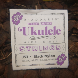 HAWAIIAN CONCERT UKULELE STRINGS (Set of 4)