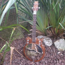 "CROWN RESONATOR BARITONE UKULELE – The ""RESOBARINATOR"""