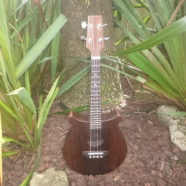 CROWN JUMBO SLIMLINE TENOR UKULELE – (All wenge body)