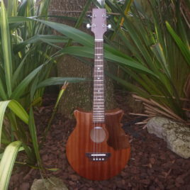 CROWN ROYALE JUMBO BARITONE UKULELE – All Sapele