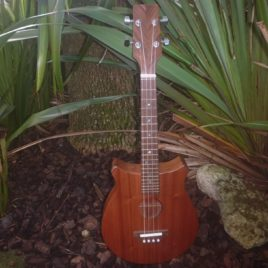 CROWN TENOR UKULELE – All Sapele